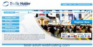 Earn money with adult website and trafficholder