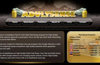 AdultSense Review: Get High Quality Traffic For Your Adult Site