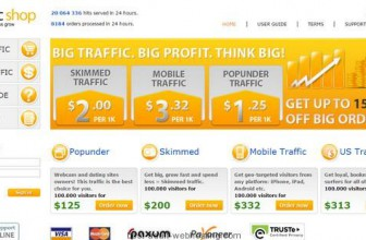 TrafficShop: The Best Adult Traffic Broker Service Online
